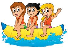 Imagen 5 del tema del deporte acuático ilustración del vector