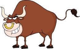 imagen del toro del illpack Imagen de archivo libre de regalías