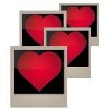 Imagen del vector, corazón de la plantilla Fotos de archivo libres de regalías