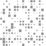 Imagen del vector de cuadrados grises en un fondo blanco stock de ilustración