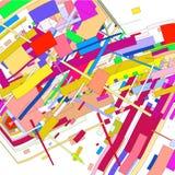 Imagen del vector de formas geométricas coloreadas libre illustration