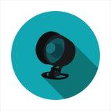 Imagen del vector de la alarma de la seguridad Fotos de archivo libres de regalías