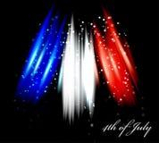 Imagen del vector de la bandera americana Fotografía de archivo