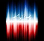 Imagen del vector de la bandera americana Fotos de archivo libres de regalías