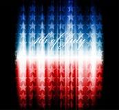 Imagen del vector de la bandera americana Foto de archivo libre de regalías