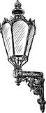 Lámpara antigua Fotografía de archivo