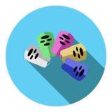 Imagen del vector de los paneles de control  Imagen de archivo libre de regalías