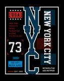 Imagen del vector de New York City Fotos de archivo
