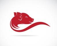 Imagen del vector de un cerdo Fotos de archivo libres de regalías
