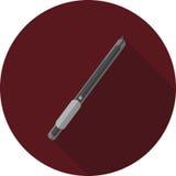 Imagen del vector de un cuchillo de la escritura Foto de archivo