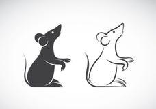 Imagen del vector de un diseño de la rata Imagenes de archivo