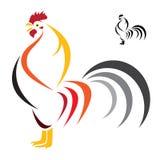 Imagen del vector de un gallo Fotos de archivo libres de regalías