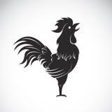 Imagen del vector de un gallo Fotografía de archivo