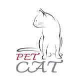 Imagen del vector de un gato Fotos de archivo libres de regalías