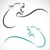 Imagen del vector de un león Fotos de archivo libres de regalías