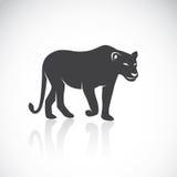 Imagen del vector de un león femenino Fotografía de archivo libre de regalías
