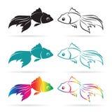 Imagen del vector de un pez de colores Foto de archivo