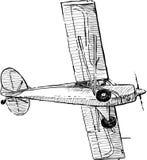 Aeroplano del vuelo Foto de archivo libre de regalías