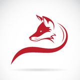 Imagen del vector de una cabeza del zorro Fotos de archivo