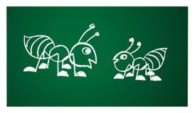 Imagen del vector de una hormiga Fotos de archivo libres de regalías