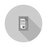 Imagen del vector del disco duro Imagenes de archivo