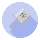 Imagen del vector del elemento del cuarzo Fotos de archivo