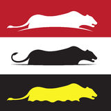 Imagen del vector del león femenino Fotos de archivo libres de regalías