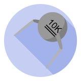 Imagen del vector del termistor Fotos de archivo libres de regalías