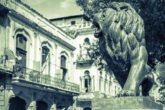 Imagen del vintage de la La Habana Fotos de archivo