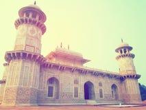 Imagen del vintage de Taj del bebé Fotografía de archivo