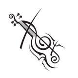 Imagen del violín Imagen de archivo