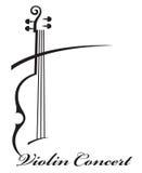 Imagen del violín Fotos de archivo libres de regalías