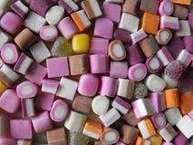 Imagen dulce de la mesa del caramelo fotografía de archivo libre de regalías