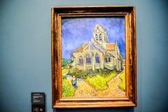 Imagen editorial del museo romántico de Orsay en fecha el 25 de diciembre de 2018 admitido París foto de archivo
