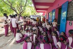 Imagen editorial documental Encuentro en la escuela del gobierno Fotografía de archivo libre de regalías