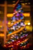 Imagen enfocada/borrosa del De de luces Enmascare las luces Bokeh ligero Imagen de archivo libre de regalías