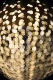 Imagen enfocada/borrosa del De de luces Enmascare las luces Bokeh ligero Fotografía de archivo libre de regalías