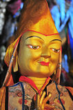 Imagen esculpida cobre Foto de archivo libre de regalías