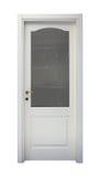 Puerta blanca Fotos de archivo