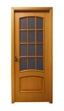 Puerta marrón clara Foto de archivo libre de regalías