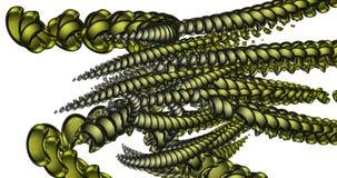 Imagen generada por ordenador de luces y de formas libre illustration
