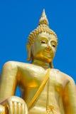 Imagen grande de buddha en Tailandia imagen de archivo