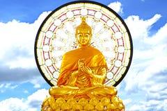 Imagen grande de la Buda-acción que se sienta fotos de archivo
