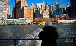 Imagen hermosa de NYC céntrico Foto de archivo libre de regalías
