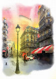 Imagen hermosa de París libre illustration