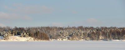 Imagen hermosa del invierno landscape Fotos de archivo