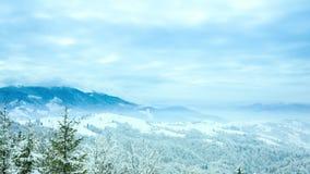 Imagen hermosa del invierno landscape metrajes