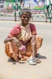 Imagen ilustrativa editorial Adolescentes en la calle, la India Fotografía de archivo libre de regalías