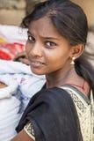 Imagen ilustrativa editorial Adolescentes en la calle, la India Imágenes de archivo libres de regalías