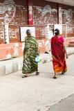 Imagen ilustrativa editorial Casa coloreada indio Fotos de archivo